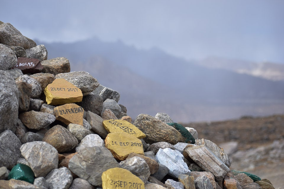 Things to do in tawang: India and China Border at Tibet as seen from Bum la