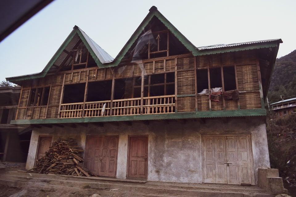 Traditional Monpa Houses of Tawang, ARunachal Pradesh