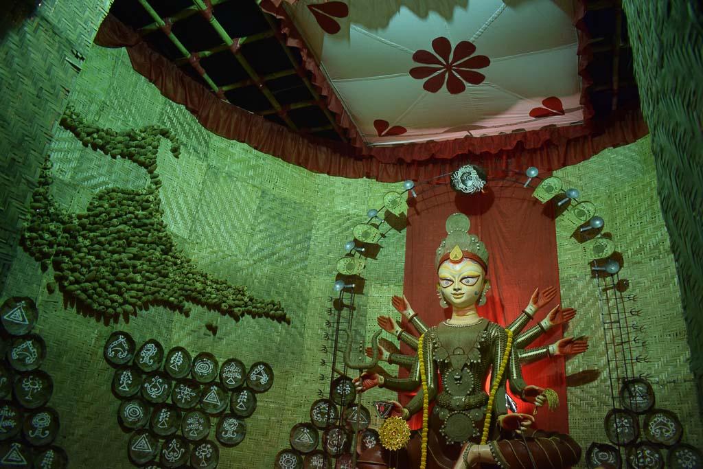 Most beautiful Durga idols of Kolkata