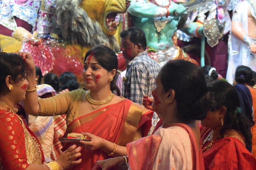 Durgapuja bhashan in Kolkata
