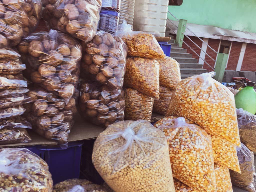 Local produce of tawang