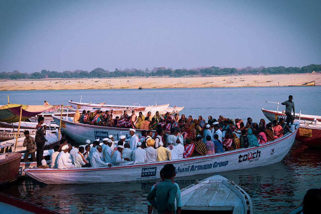 Boatride on Ganga in Varanasi