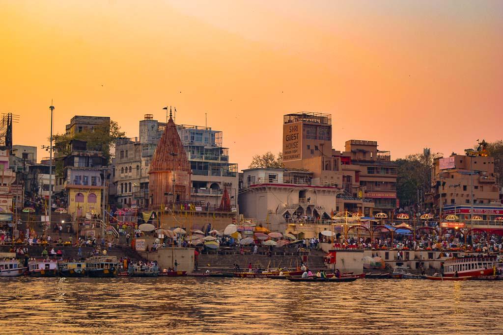 Ghats of Varanasi: Daswaswamedh Ghat, prime ghat of Varanasi
