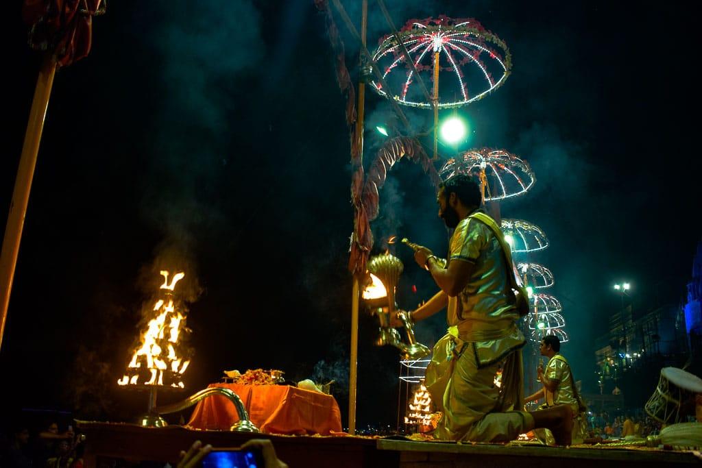 Ghats of Varanasi: Ganga Aarti of Varanasi