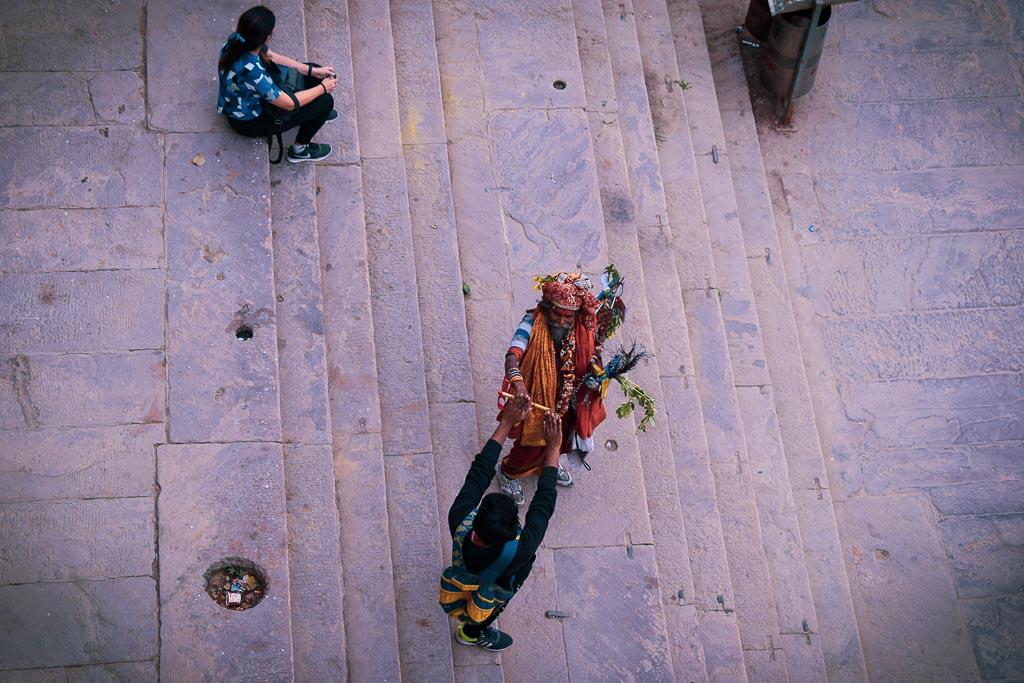 Ghats of Varanasi: assi ghat