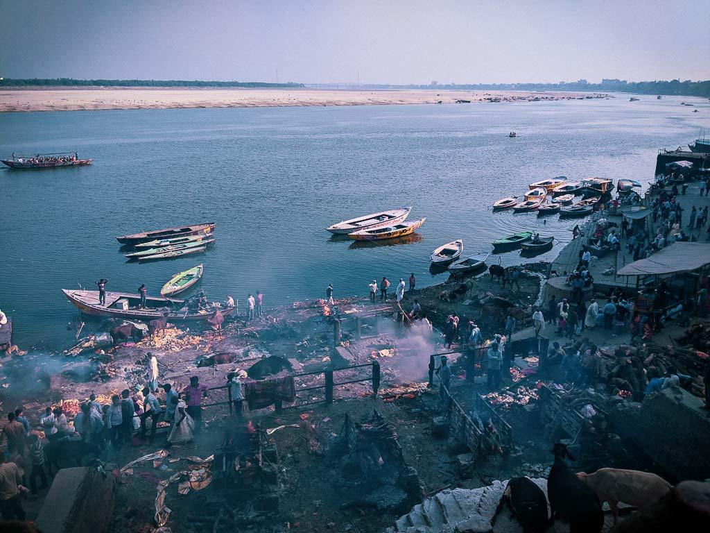 manikarnika Ghat: Cremation ghat of Varanasi