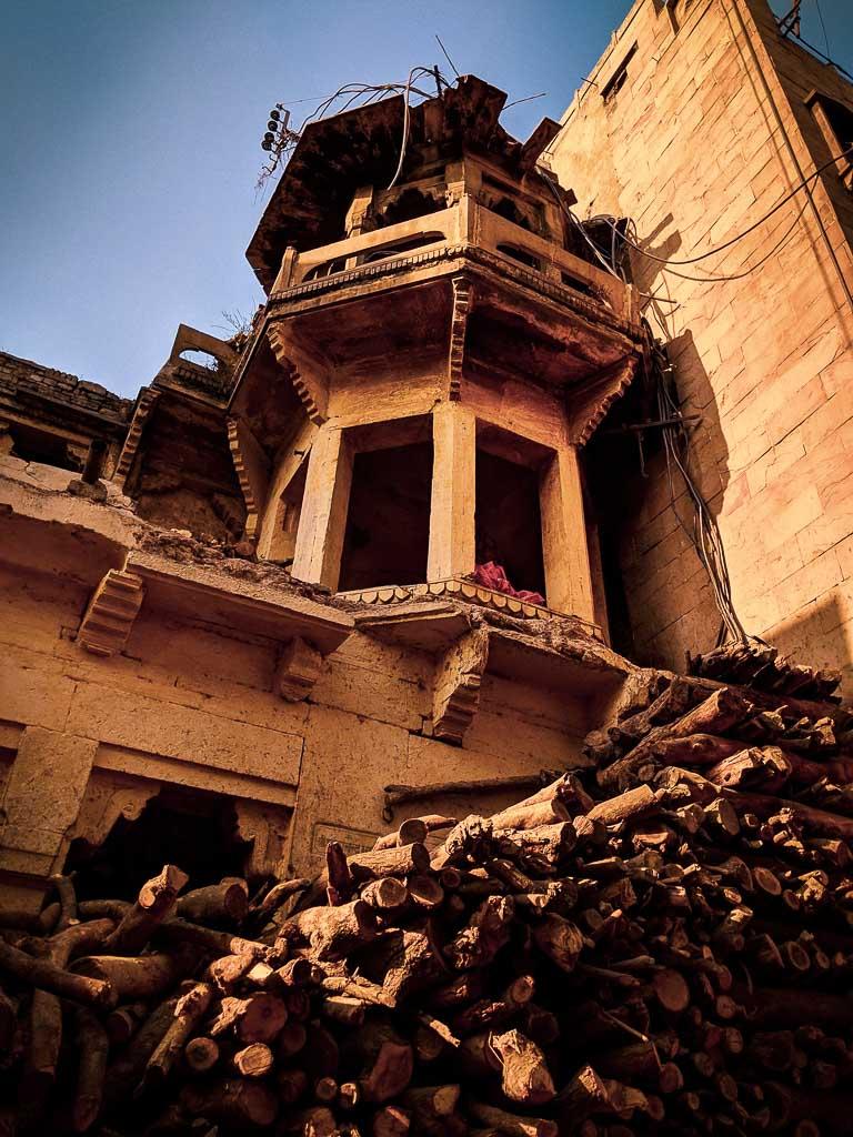 Ghats of Varanasi: manikarnika ghat