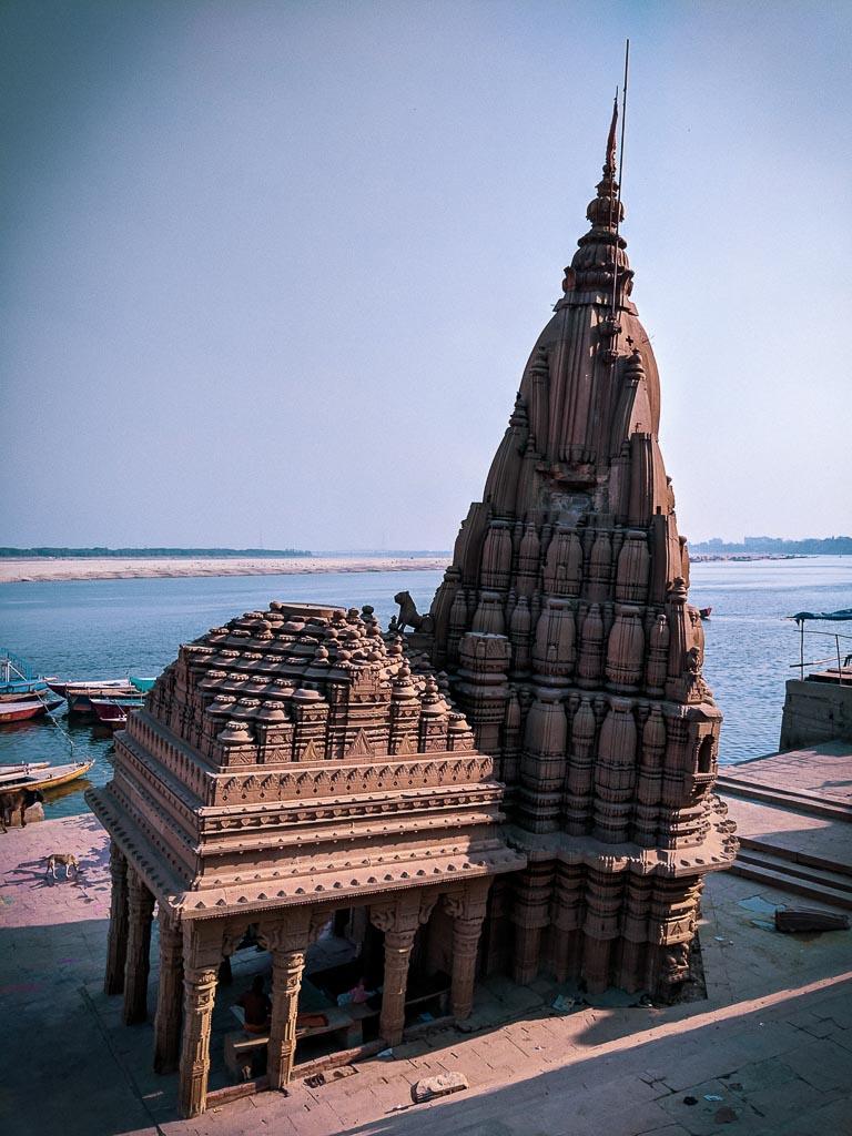 Scindia Temple at the ghats of Varanasi