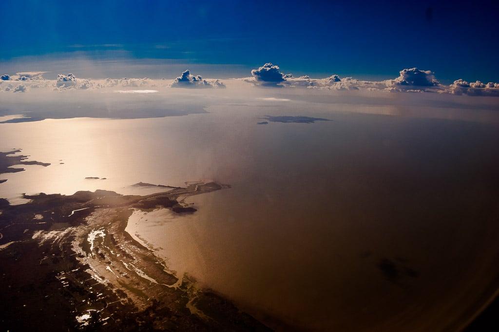 traveling in Ethiopia Photo blog: Lake tana from Flight