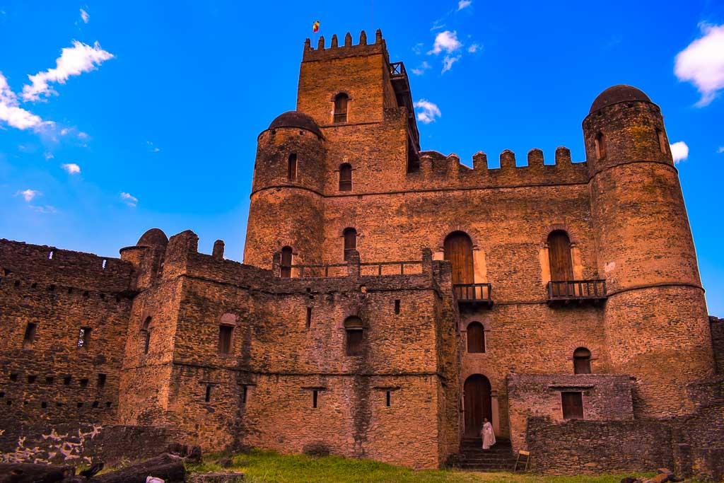 traveling in Ethiopia Photo blog:  Gondar castle