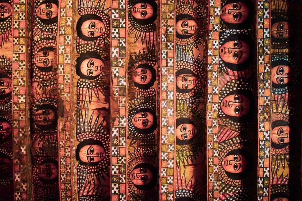 traveling in Ethiopia Photo blog: Rooftop of Church Debra Selassie