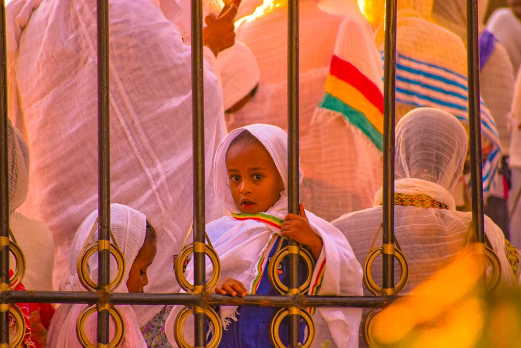 traveling in Ethiopia Photo blog: Sunday Mass at Gondar Church