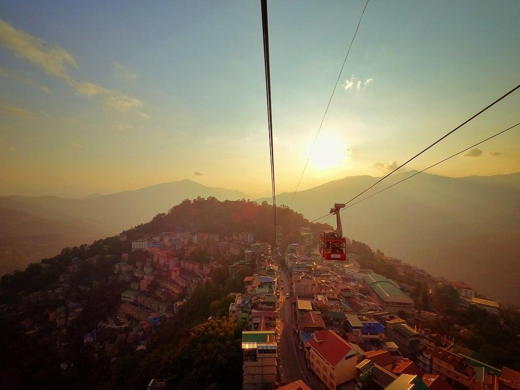 Gangtok Cable Ride