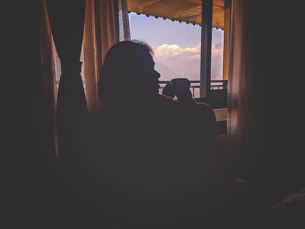 Pelling Udaan Hotel room view