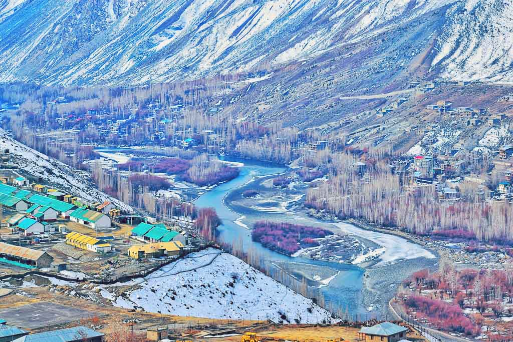 Kargil city view point