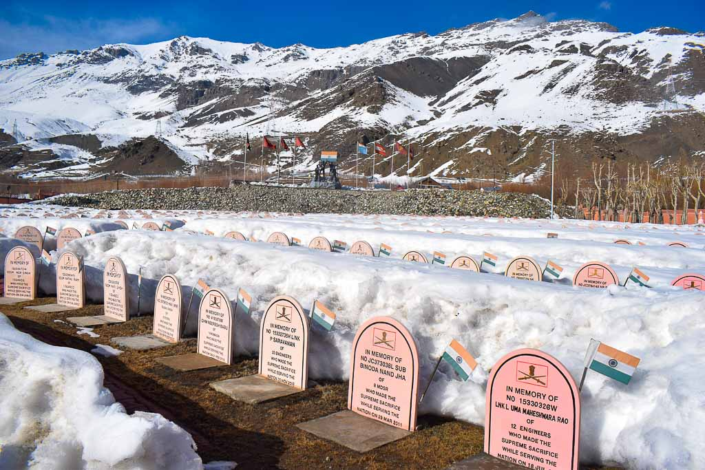 The Kargil war memorial
