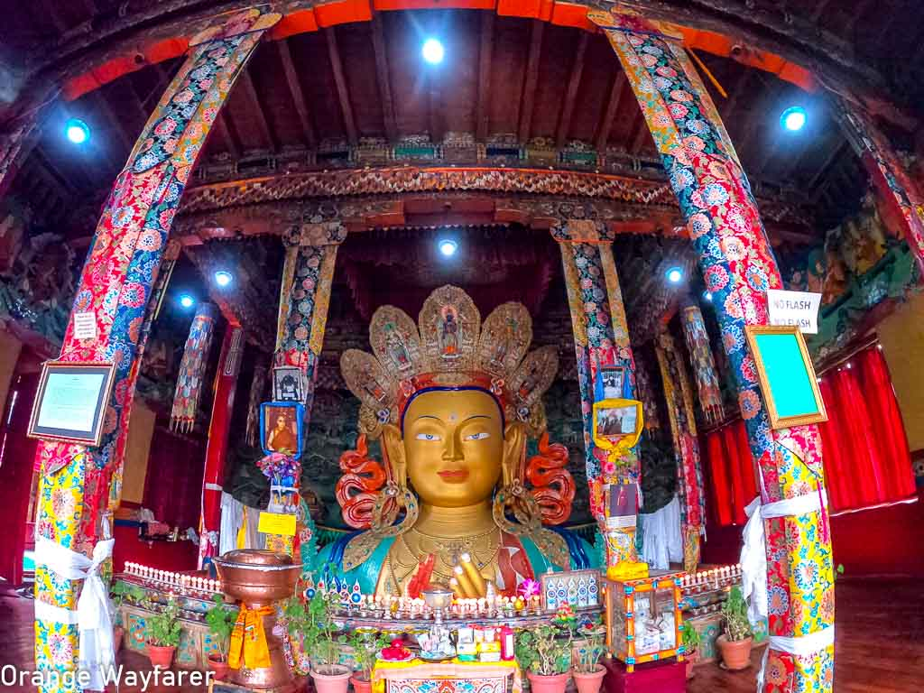 Maitreya Buddha of the Thikshey Monastery