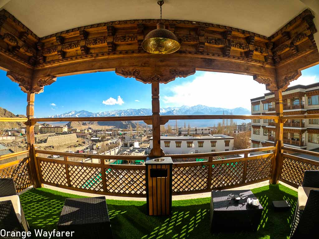 Luxury suite at the Grand Dragon Ladakh