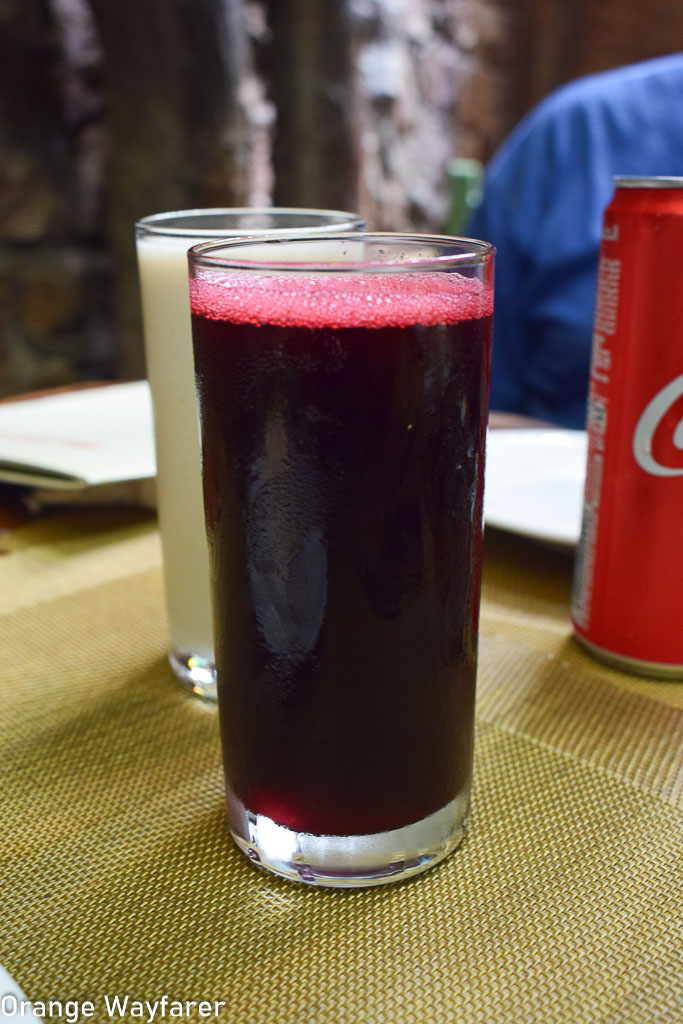 Hibiscus Juice served in Cairo