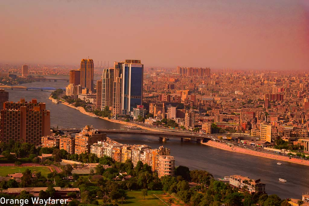 View of Egypt from Cairo Tower