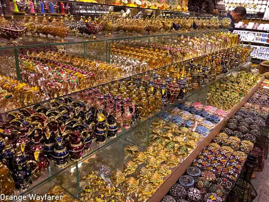 Khan e khalili souvenir shopping in Egypt