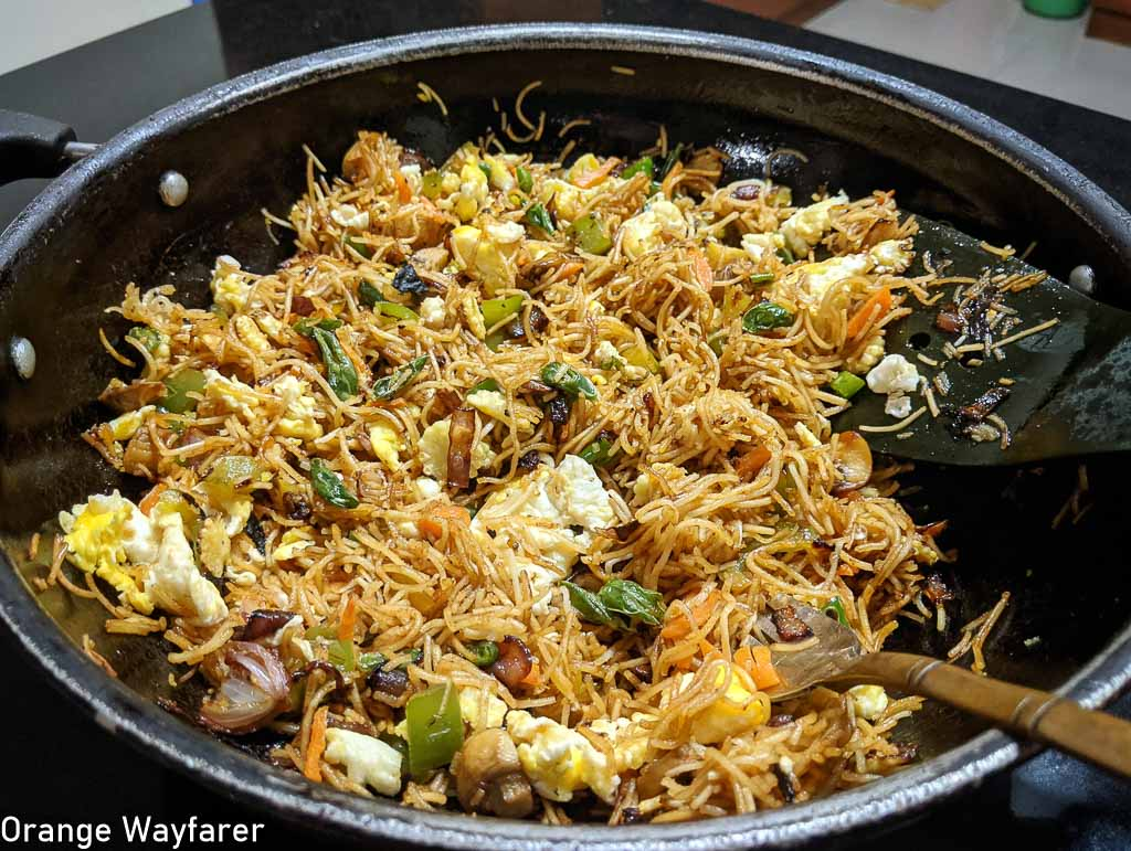 Kolkata Street Style Chow Mein: Story of a Gradual Evolution!