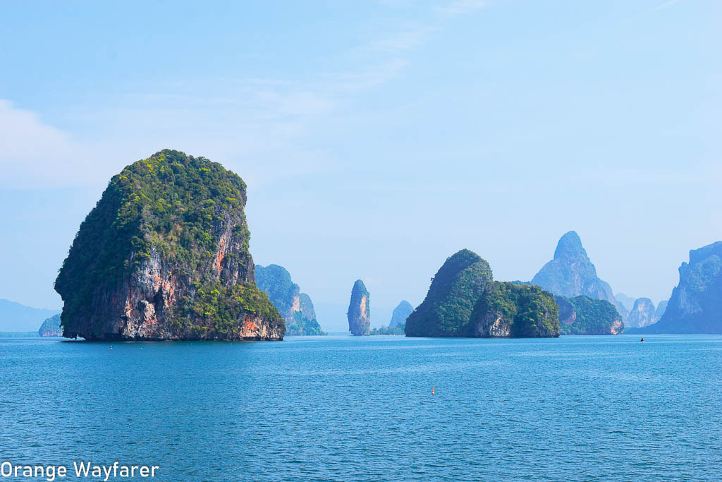 beautiful islands in thailand: Phang nga bay tour by kayak