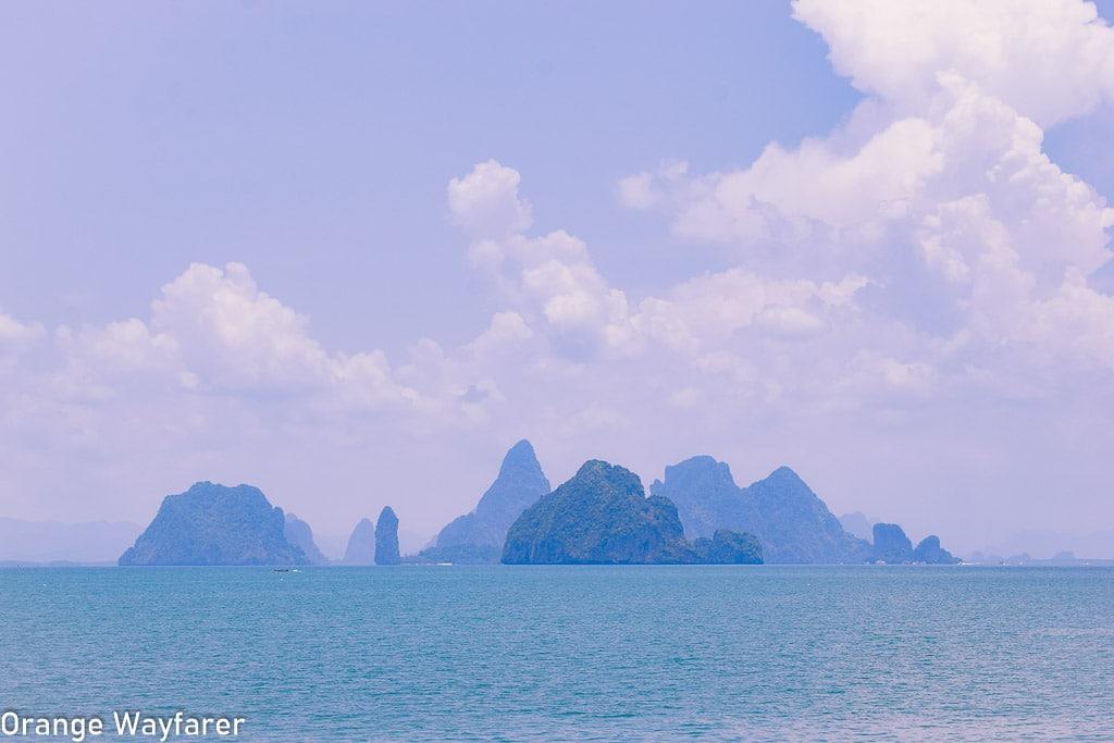 beautiful islands in thailand: Phang nga bay tour