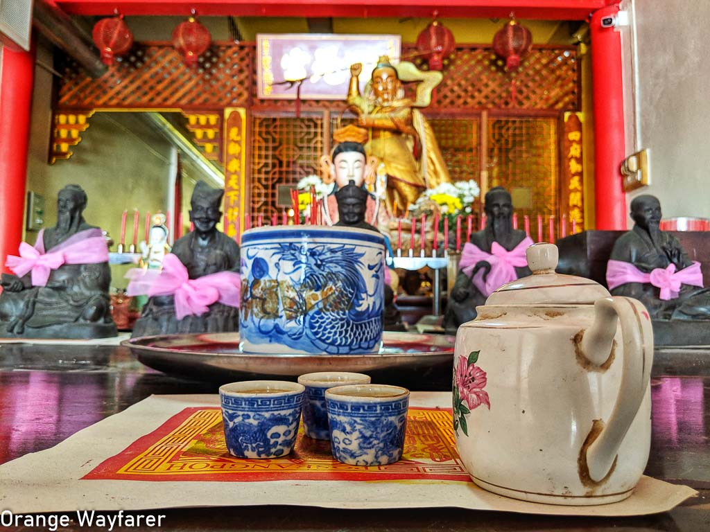 Takua Pa Old Town Chinese shrine