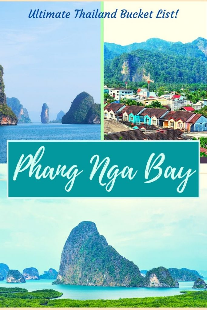 phang nga bay is an offbeat destination in Thailand. In Phang Nga bay, you may take a day trip from Phuket. But there are more things to do like James Bond Island tour, kayaking, Koh Yao Yoi, mangrove tour, Takuapa old town. #phangngabay #phuket #thailandreopening #backpackingthailand #offbeatthailand