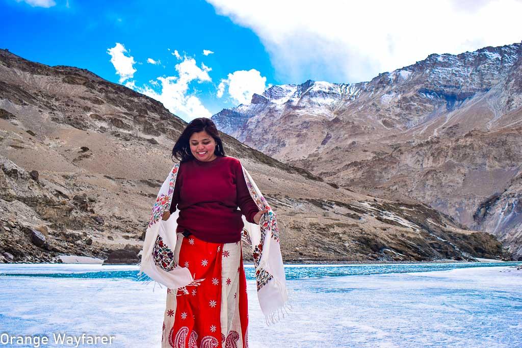 Walking on Chadar at Zanskar river near Chiling village: Offbeat day trips from Leh