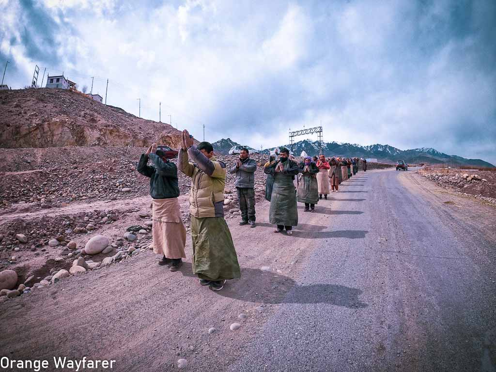 Buddhist pilgrimage during the month of Lent: Traveling in Ladakh